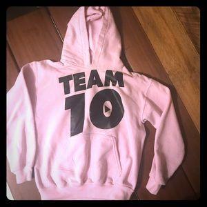 Team 10 pink sweatshirt